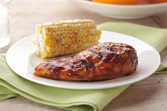 Easy Barbecue Chicken Breasts