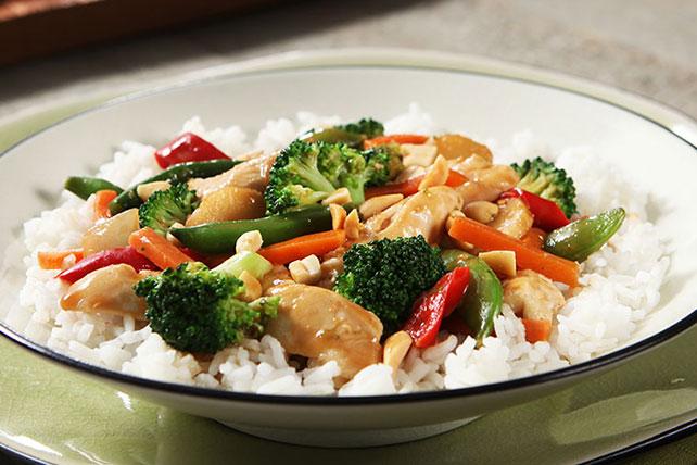 Easy Chicken Stir-Fry Skillet