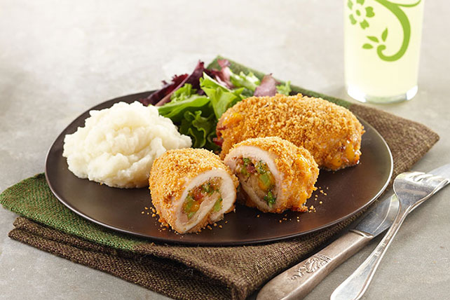 Broccoli-Cheddar Chicken Bundles