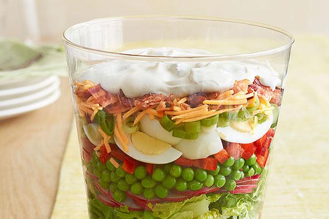 Blue Ribbon Layered Salad