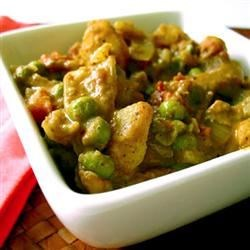 Spicy Vegan Potato Curry
