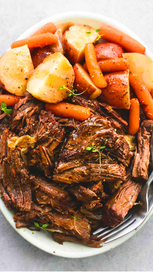 Instant Pot Roast Beef and Potatoes